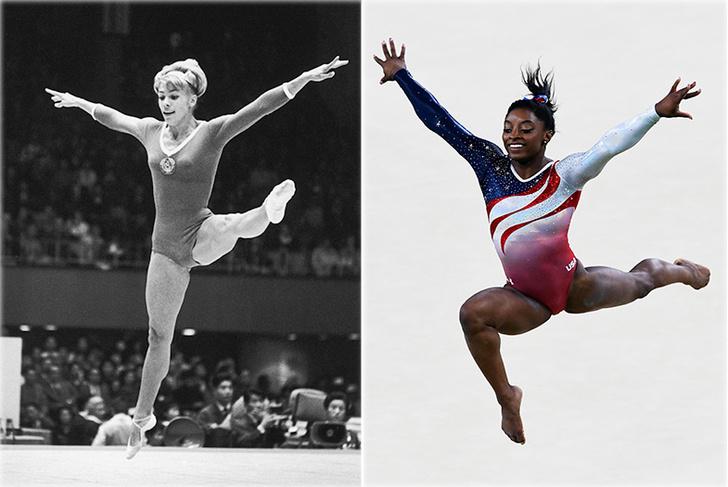 Фото №1 - Эволюция спортивной гимнастики: от табуретки до тройных сальто