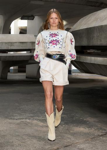 Фото №3 - Завораживающий образ парижанки будущего: в коллекции Isabel Marant осень/зима 2021-2022