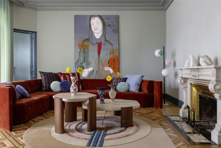 Фото №1 - Дом основательницы марки Magic Circus Editions Мари-Лиз Фери в Лионе