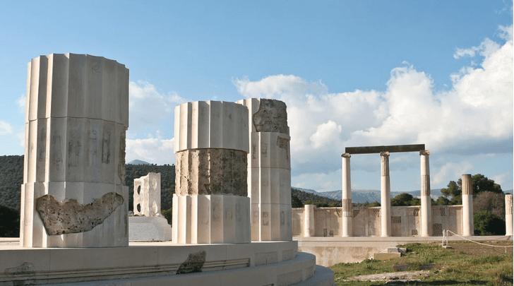 Фото №1 - В Греции найдено древнее святилище Асклепия