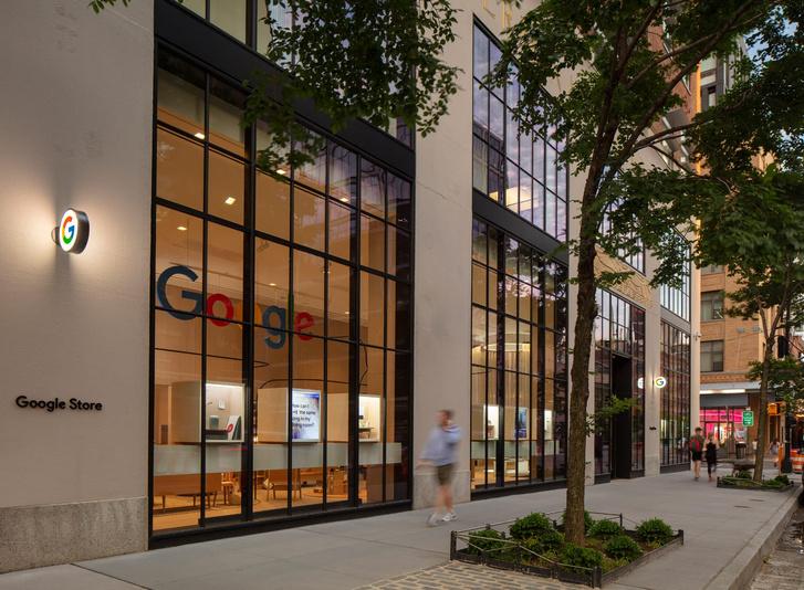 Фото №2 - Первый магазин Google в Нью-Йорке