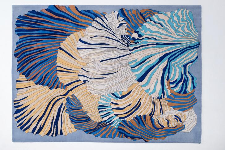 Фото №1 - Картография впечатлений: новые ковры по дизайну Елены Бавлаковой