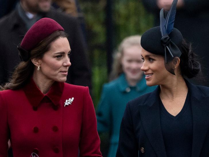 Фото №1 - Общие заботы: недолгий период, когда Кейт и Меган действительно сблизились