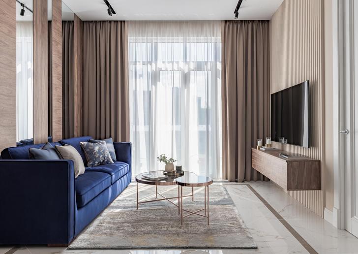 Фото №1 - Московская квартира 58 м² в пастельных тонах