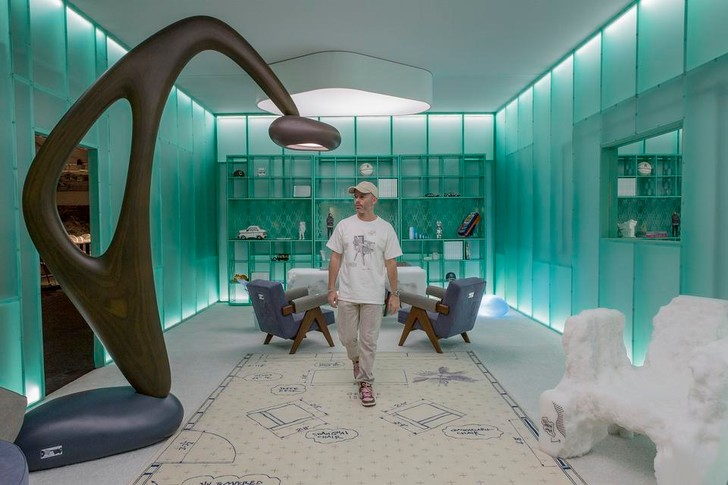 Фото №5 - Новая коллекция мебели Дэниела Ашрама на грани дизайна и арта