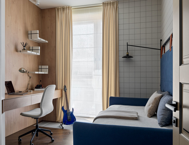 Фото №5 - Классическая квартира с яркими акцентами