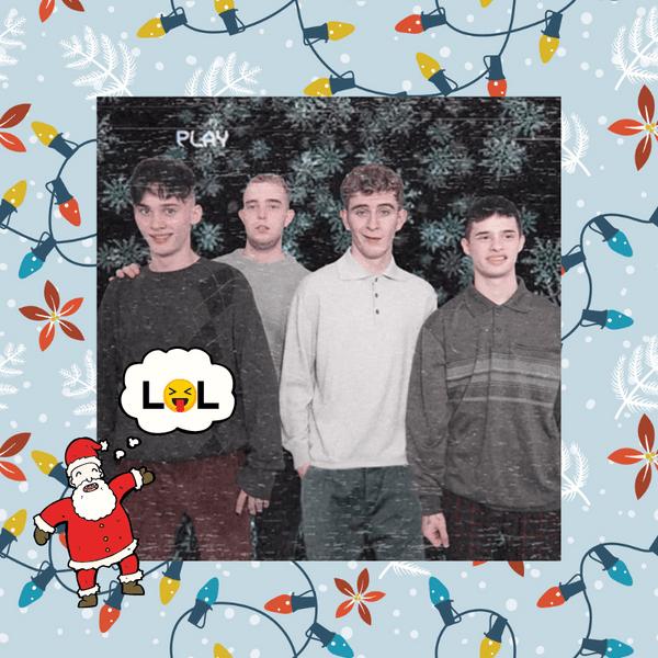 Фото №1 - Лови новогодний сюрприз и пожелания от мальчишек из Dream Team 🔥🤣