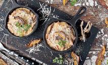 Жюльен из курицы с грибами