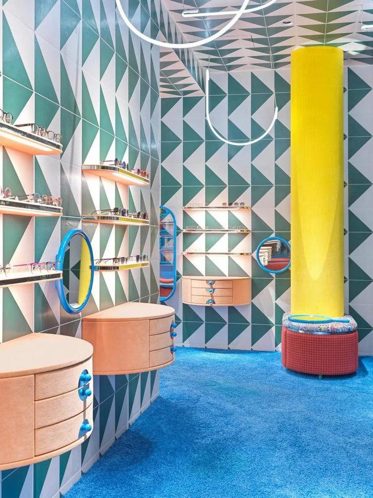 Фото №4 - Яркий магазин детской оптики Rookies в Мюнхене
