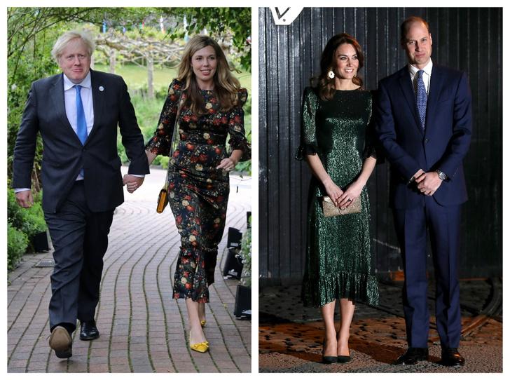 Фото №1 - Будущая королева и Первая леди: как Кэрри Симондс копирует стиль Кейт (и зачем)