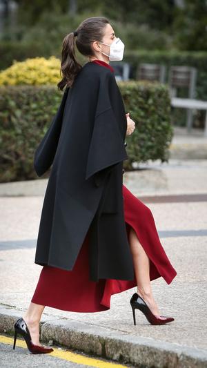 Фото №5 - Коварный разрез: модный конфуз королевы Летиции