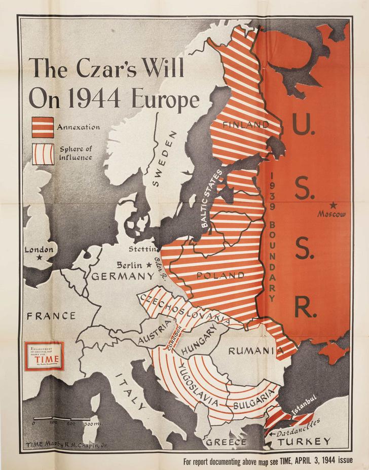 Фото №2 - 5 исторических антисоветских карт