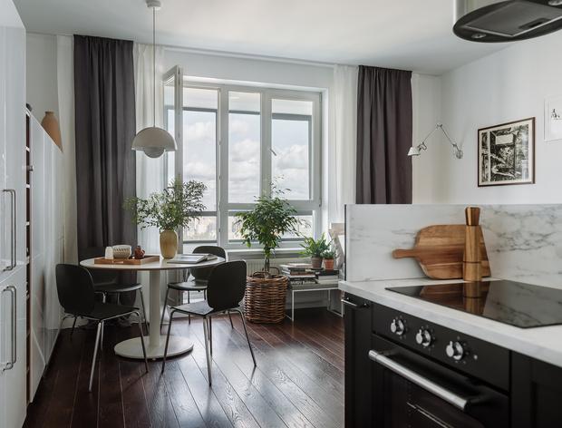 Фото №3 - Интерьер месяца: уютная квартира 35,7 м² в скандинавском стиле