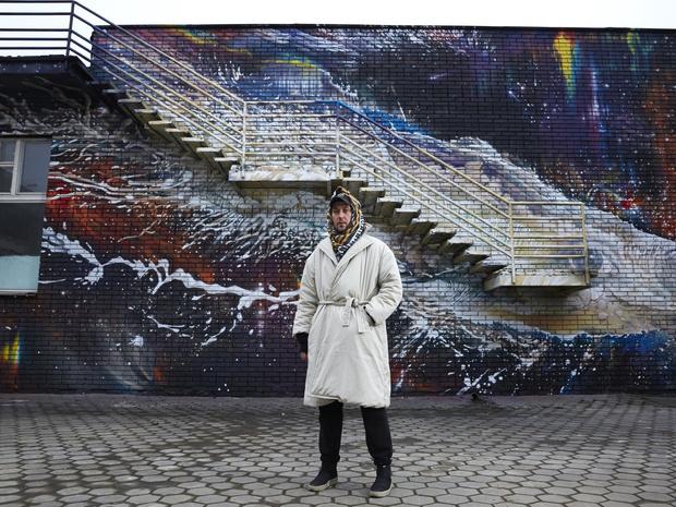 Фото №3 - Искусство под открытым небом: что нужно знать о мурале «Млечный путь» Александра Купаляна