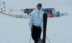Весна пришла: Елена Ваенга встала на лыжи