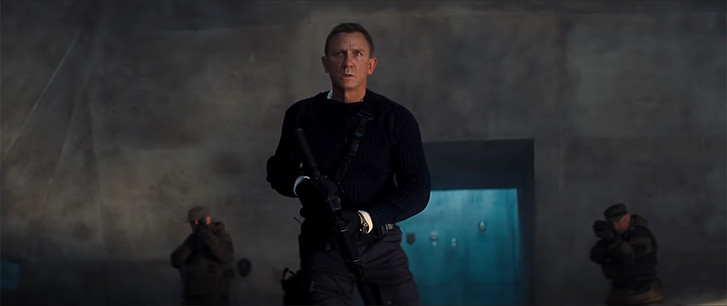 Фото №1 - Новый и окончательный трейлер фильма про агента 007 «Не время умирать»