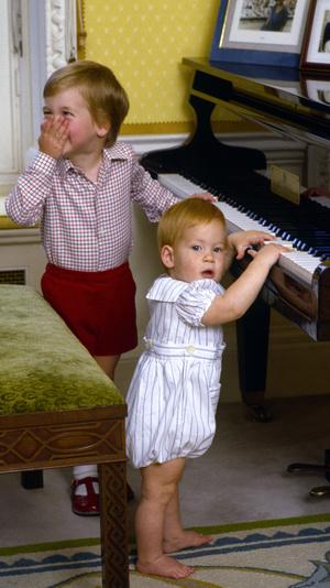 Фото №3 - 15 трогательных фото, доказывающих, что Уильям и Гарри были действительно близки