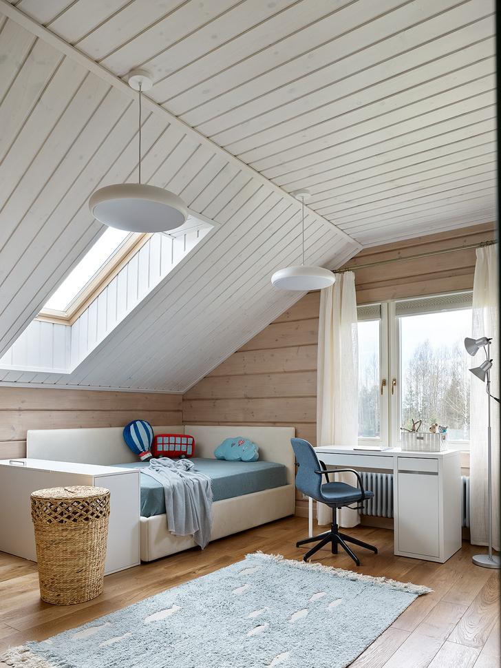 Фото №11 - Деревянный дом в стиле кантри