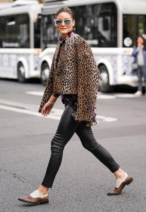 Фото №11 - Модный камбек: с чем носить леггинсы сегодня