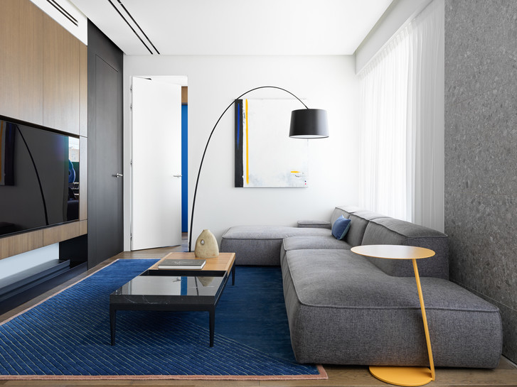 Фото №6 - Яркий минимализм: квартира 60 м² в Москве