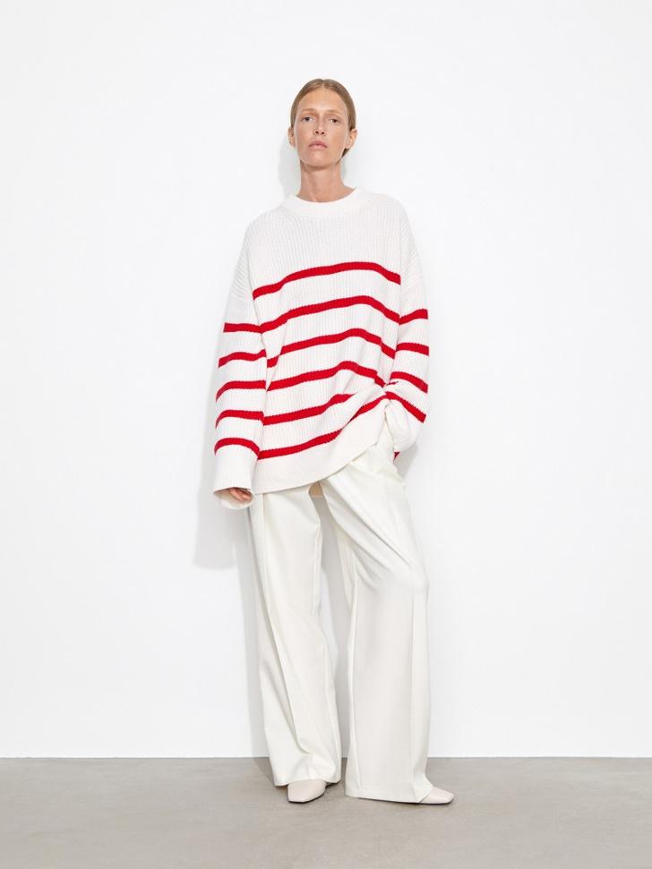 Фото №6 - Полосатый свитер— модное спасение от осенней хандры. И вот 10 классных вариантов на каждый день