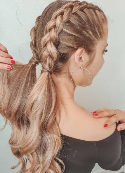 Фото №8 - Прически с косами: 8 стильных вариантов на лето