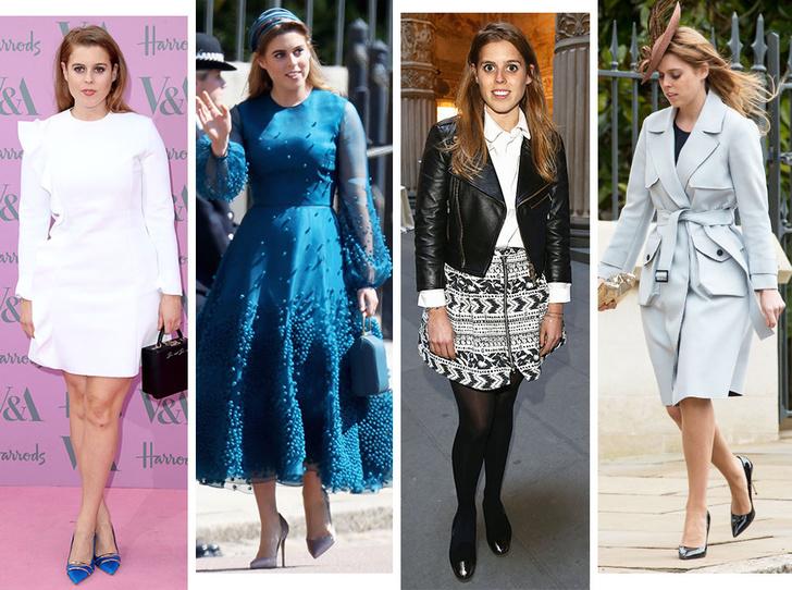 Фото №1 - Эволюция стиля принцессы Беатрис: от любительницы мини и гипюра до элегантной леди