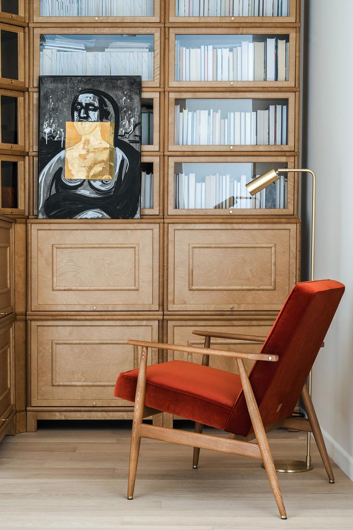 Фото №8 - Квартира с современным искусством в Москве