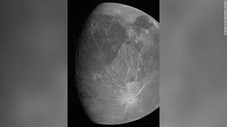 Фото №1 - Аппарат NASA сделал снимки крупнейшего спутника Юпитера
