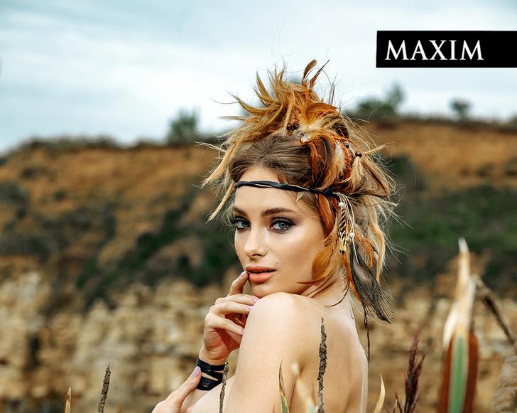 Фото №1 - Жаркая фотосессия Марии Лисовой в MAXIM— вспоминаем в честь ее возвращения в «100 самых сексуальных женщин страны»