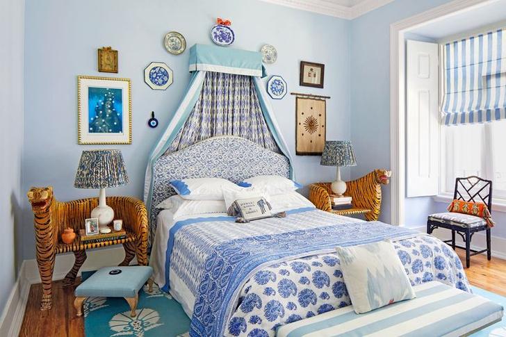 Фото №18 - Стена над изголовьем кровати: 10 идей декора