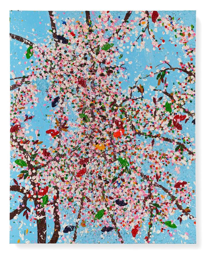 Фото №1 - Вишневый сад: выставка Дэмиена Херста в Фонде Cartier