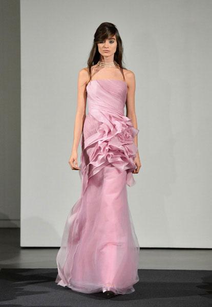 Свадебное платье Vera Wang осень-2014