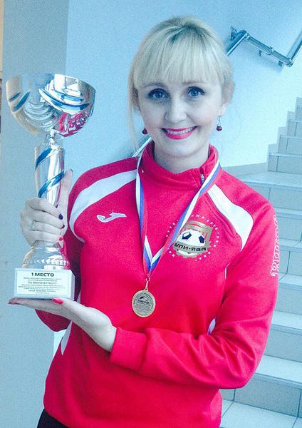 Анна Ярмиева, исполнительный директор футбольного клуба, фото