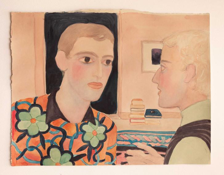 Фото №1 - «Позвони мне завтра»: выставка Ахмата Биканова в галерее «Сцена»
