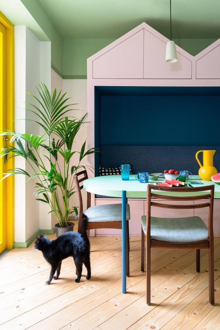 Фото №5 - Color Blocking: яркий дом в Лондоне