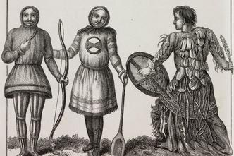 Фото №2 - Круговой обзор: секреты одеяния и атрибутов сибирских шаманов