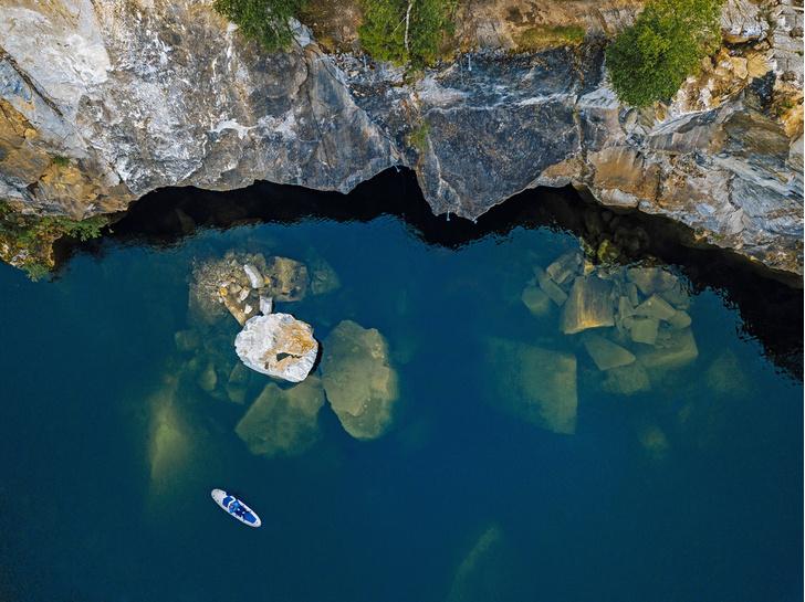Фото №1 - Какой горный парк в Карелии самый знаменитый?