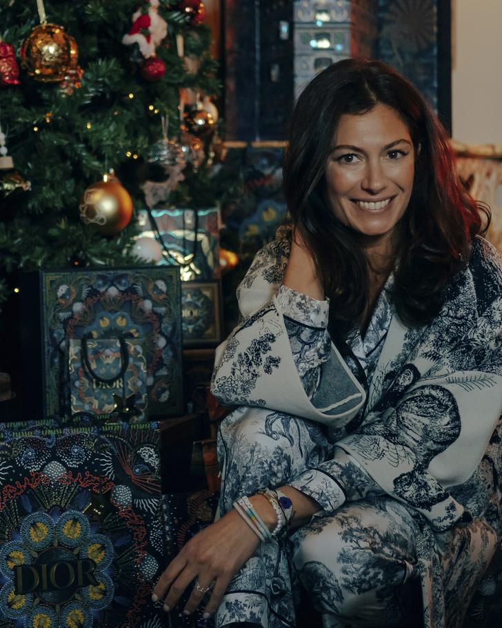 Фото №1 - Рождественский декор: в гостях у арт-директора Dior Maison Корделии де Кастеллан