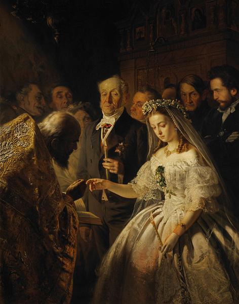 Фото №2 - 15 свадебных традиций, которые сегодня кажутся странными