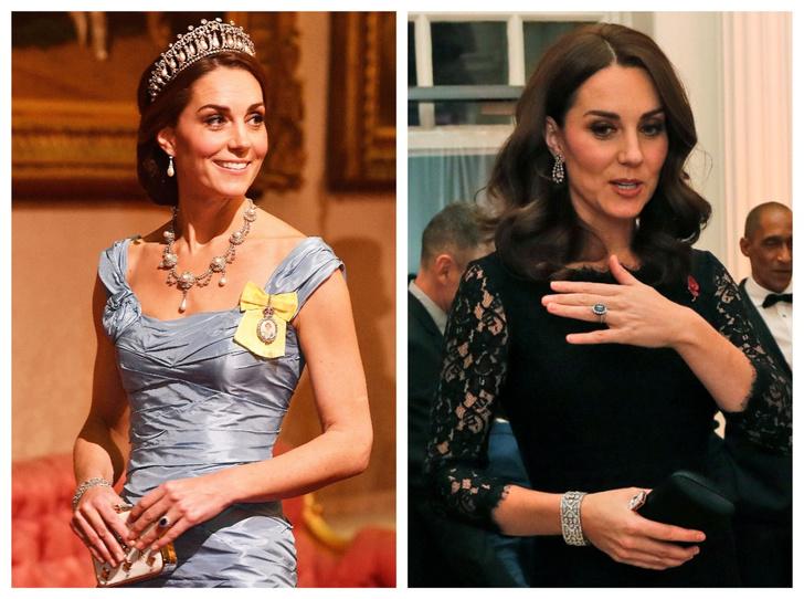 Фото №1 - Королевская сокровищница: самые дорогие украшения герцогини Кейт