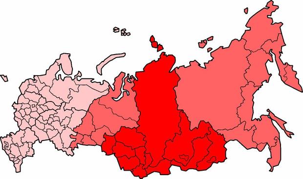 Фото №1 - Лучшие шутки о сокращении регионов России