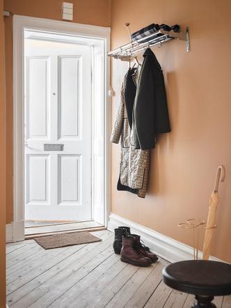 Фото №6 - Уютная скандинавская квартира с микро-спальней в Гетеборге