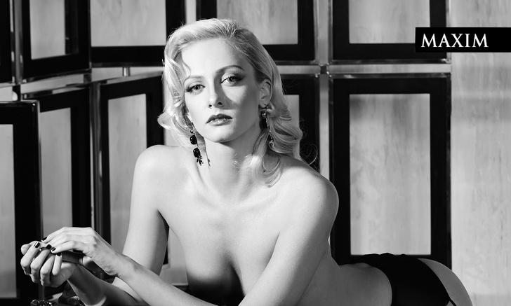 Фото №5 - Знойные фотосессии актрисы Полины Максимовой в MAXIM— восторгаемся по случаю ее дня рождения