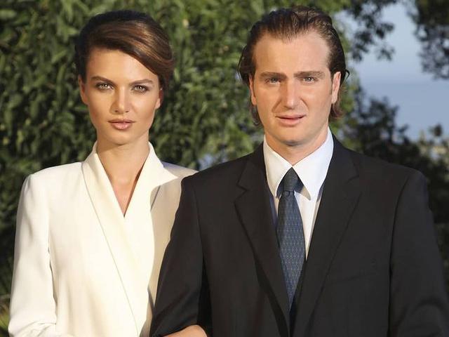 Фото №1 - Радостные вести: князь Грузии и его супруга-модель станут родителями