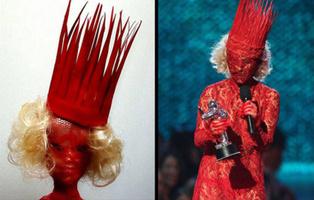 Леди Гага и кукла Барби