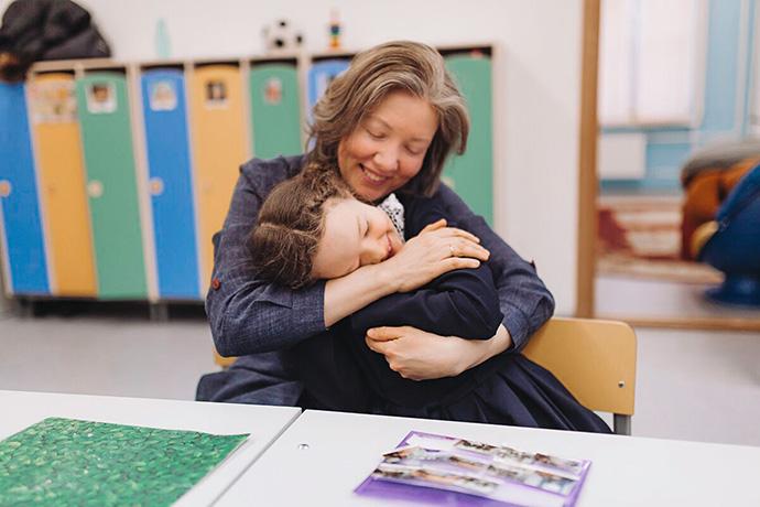 Лилия Колпакова, врач, и ее дочь Настя