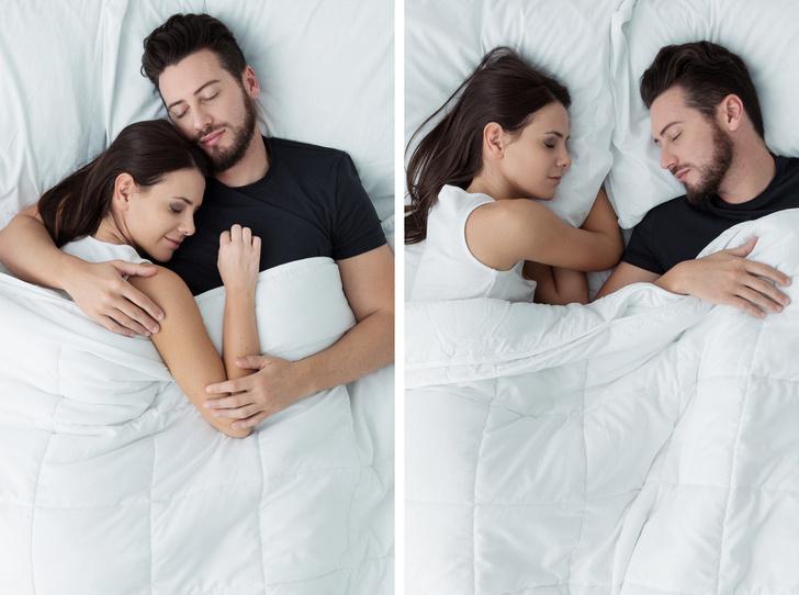 Фото №8 - Тест на отношения: о чем говорит поза, в которой вы спите с партнером