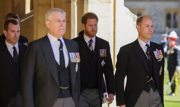 Принц Эдвард, Гарри, принц Эндрю