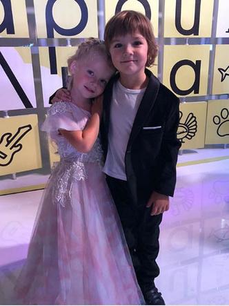 Пугачева и Галкин дети фото